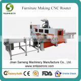 auto loading panel furniture cnc wood cutting machine                                                                                                         Supplier's Choice