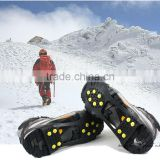Wholesale high quality safety jogger 10pcs Spikes Anti-Slip snow shoes crampons
