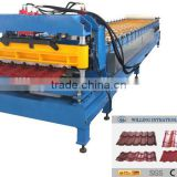 pre-painted steel roof tile sheet roll forming machine avalible