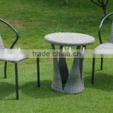 2016 best selling garden outdoor coffee table and chair wicker stackable chair and table set rattan coffee table and chair                                                                                                         Supplier's Choice