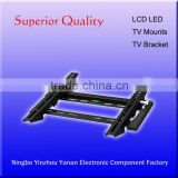 plastic edge new style tilted tv mount Ultra slim tv bracket for flat panel screen size 17''-42''