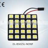 2015 new arrival led light for the dome light -B5050 25L-NONP
