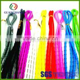 Factory Custom oem siliocne lazy shoelaces no tie shoelaces easy tie,cellulose acetate shoelace tipping film
