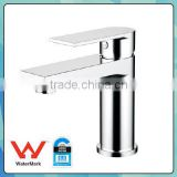 Bathroom Brass Single handle Mixer Tap Square Basin Faucet Mixer Watermark Wels Approved 1359