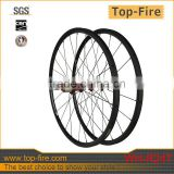 3k UD road bicycle wheel 24mm depth 20.5mm width Chinese tubular full carbon wheels with basalt