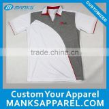 100 polyester polo shirts breathable work uniform