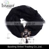 2015 National wind sequins beads with retro black cloth washing a face makeup headband