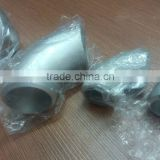 ASME B36.1M 90 3 way elbow pipe fittings