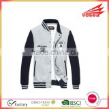 Letters Pattern Cotton custom team mens baseball jacket