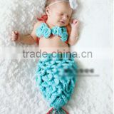 The Little Mermaid hand crochet baby sleeping bag