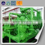 High efficient CE ISO natural gas generator electricity power plant gas cng diesel generators