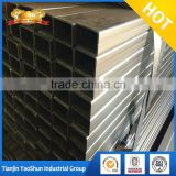 square rectangular section weight of square pre galvanized pipes 100 x 100 x 3 galvanised square tube