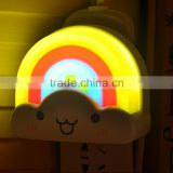 LED Lucky Rainbow Projector Room Night Light Color Lamp Magic Romantic for Kids                                                                         Quality Choice