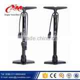 OEM floor pump with gauge / export bike parts air pump / hand powered inflator for bicycle