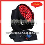 NEWEST 36 pcs 4 in 1 10w RGBW leds zoom sunny stage light WLEDM-11-4