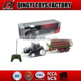 Trucks with trailer toys 1:28 radio control farm tractor agricultural tractor