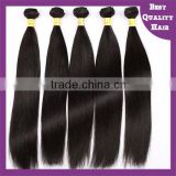 Gogerous Natural Color Silky Straight Brazilian Virgin Hair Machine Weft