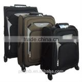 "20""Classic Design Soft luggage sets Polyester Oxford Cloth trolley case EVA trolley sets"