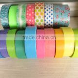masking tape for automotive painting /solvent crepe paper tape/high temperature masking tape