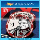 Ceramic Custom Poker Chips For Display Box Pakaging                                                                         Quality Choice
