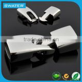 SW-CL053 Dongguan Swater factory price wholesale Clasp Bracelet hook type Magnetic Clasp Converter Stainless Steel Clasp