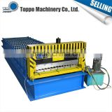 China supplies professional construction corrugated steel roof sheet roll forming machine line