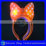 High Quality Most Popular Devil Horns Led Head Boppers