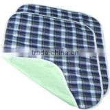 Plaid Reusable Bed pads