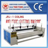 JRJ-1 Coiling and Edge-cutting Machine,Fabric Roll Machine,Waddings Packing Machine