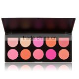 10 Color Professional Warm Color Eye Shadow Women Cosmetic Makeup Glittering Matte Combine Eyeshadow
