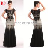 2014 new arrival short sleeve beaded mother of the bride evening sequins beaded dresses wholesale ethnic evening dress
