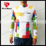2016 Fuyrace OEM Mens Long Sleeves Cycling Clothing Custom Road Bike Clothes Bicycle Apparel
