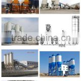 Latest Technology Used HZS60 Concrete Mixer Mobile Concrete Batching Mixing Plant For Sale