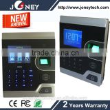 Fingerprint Time Attendance Touch Keyboard with 2.8 inch HD TFT Display Support RFID CARD