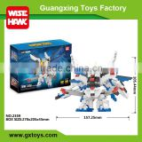 Wholesale plastic gundam model block toy