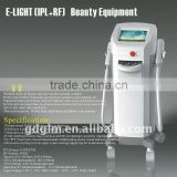 Vascular Treatment E-light (IPL +RF ) Remove Tiny Wrinkle Permanent Hair Removal Beauty Equipment E-006