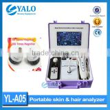 7 inch LCD screen Professional Beauty Salon Equipment Skin and Hair Analyzer Device YL-A05