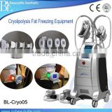 Skin Lifting Criolipolisys Machine Lose Weight With 4 Handles 2015 Cryolipolysis