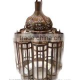 Moroccan Candle Lantern in Iron Wedding Candle Lanterns Lamps Pillar Holders