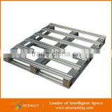 Warehouse steel hot selling pallet racking,Foldable and Stackable Tyre Warehouse Storage Steel Pallet