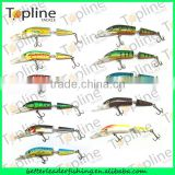 2014 New 105mm 8.3g hot selling two-section jointed bait fishing lure/hard body