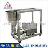 Steel Powder Liquid Emulsification Mixer for mayonnaise