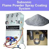 Subsonic Flame Powder Spraying System for Low Cost Metal Surface Treatment Repairing Tungsten Nickel Chromium Carbide