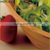 Large Bamboo Salad Serving Soup Bowl/Homex_Factory