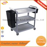 China produce cheap price best quality plastic three layer trolley Q-059