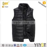 OEM services warm keeper waistcoats winter men duck down vest