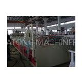 Concial Twin Screw Extruder PVC / WPC Plastic Production Equipment Wood Profile Extrusion Line