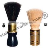 Stallone-India Black and White Bleached Pure Cow [Hog] Hair and Horse Neck Hair Shaving Brush