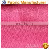 Onway Textile Single Jacquard of 100% Polyester Fabric for Sportswear lining