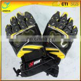 Classic Design Genuine Goat Leather Motorcycle Gloves